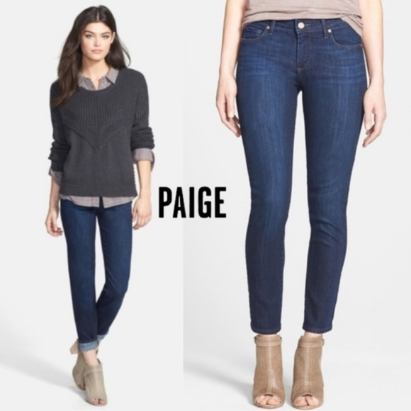 PAIGE Denim - PAIGE Skyline Ankle Peg in Dixie